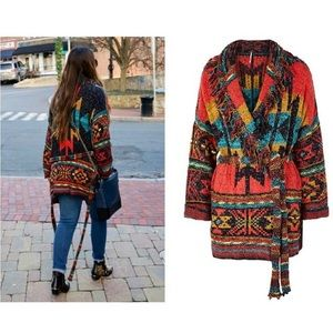 Free People Wild Wild West Cardigan